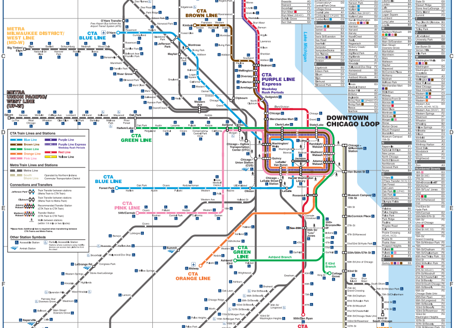 The most exciting map in Chicago City Notes