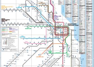 RTA rail map