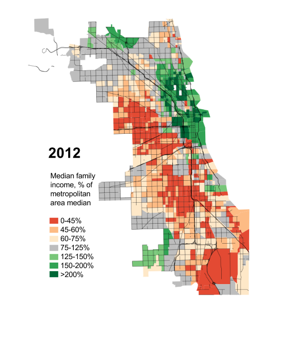 Watch Chicagos middle class vanish before your very eyes City Notes