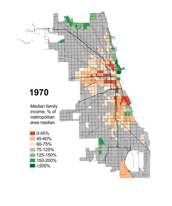 Watch Chicago's middle cl vanish before your very eyes ... on chicago geographic map, chicago population graph, cps schools map, chicago area demographics, chicago racial demographics, chicago economy map, chicago demographics by neighborhood, chicago global map, chicago population 2013, u.s. population by state map, chicago designated market area map, chicago community map, chicago race map, chicago economic map, chicago race demographics, chicago socioeconomic map, houston demographics map, chicago neighborhood map, chicago demographics religion, great migration african americans map,
