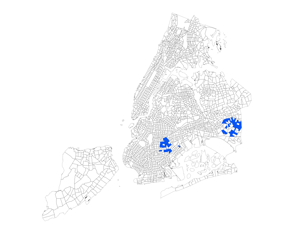 How Segregated Is New York City  City Notes - Chicago map new york