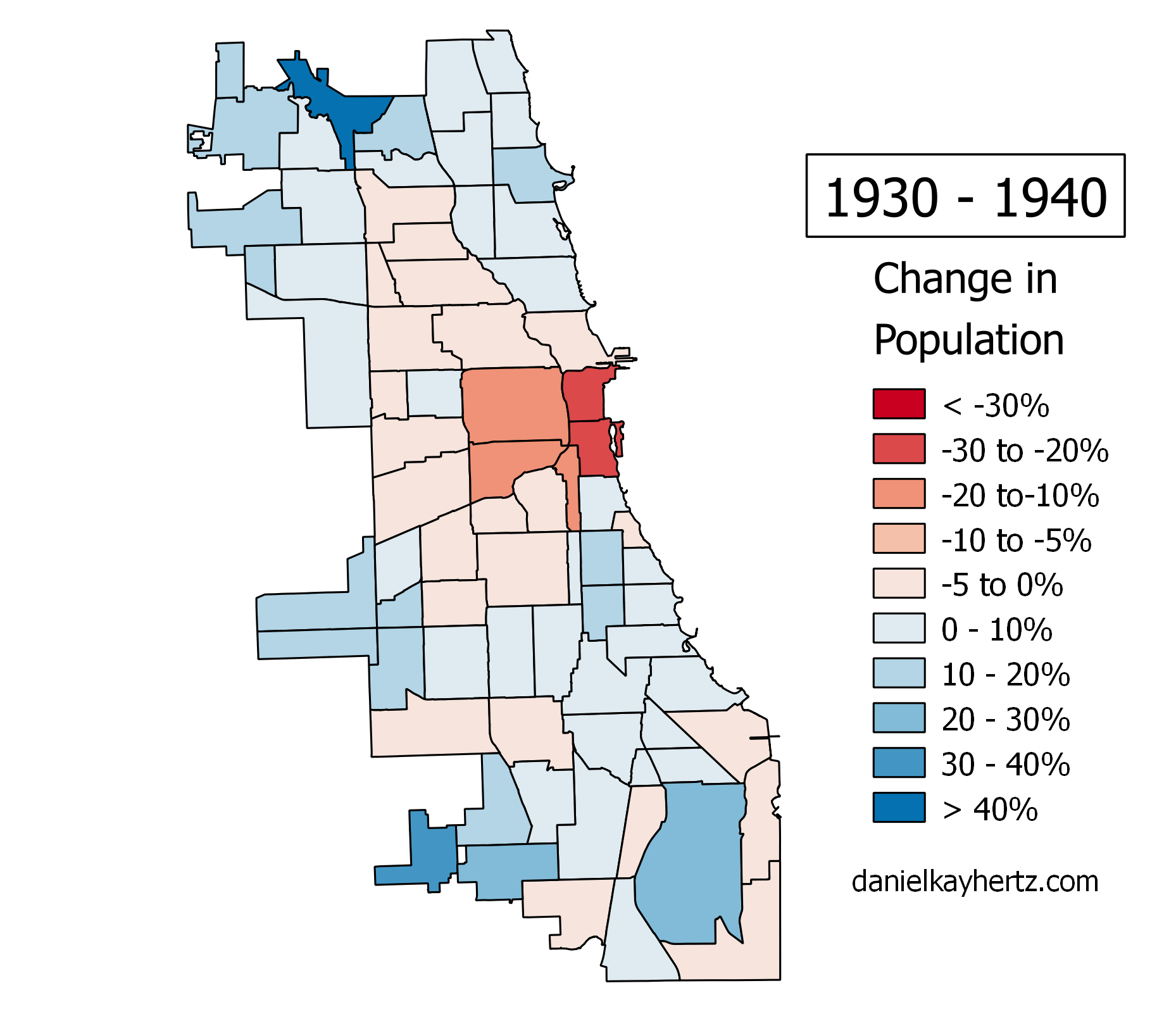 Eighty years of Chicagos population annotated City Notes