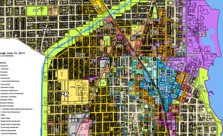 City Of Evanston Zoning Map