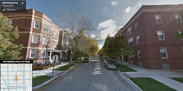 For example, this street is literally a block and a half from a Brown Line station, is already build up with 3 1/2 story apartment buildings, and is zoned for single family homes only.
