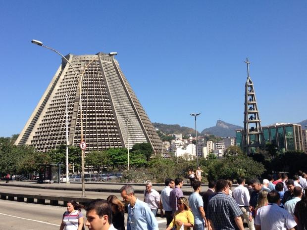 Metropolitan Cathedral, outside