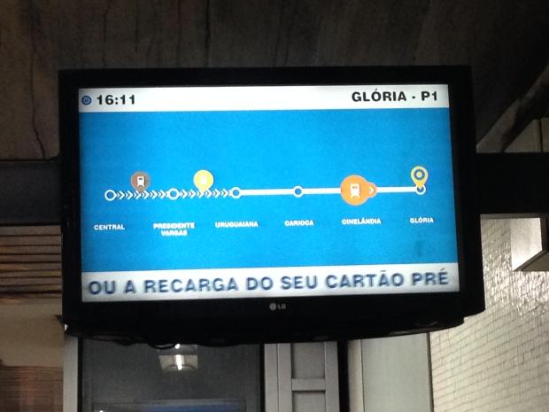 Train tracker, Rio