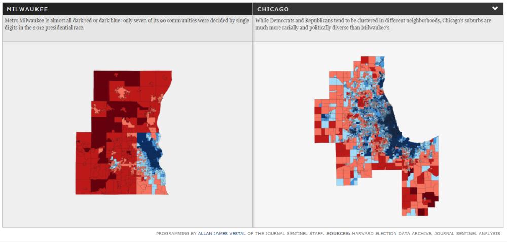 Chicago Political Map Chicago's newly Democratic suburbs – Daniel Kay Hertz